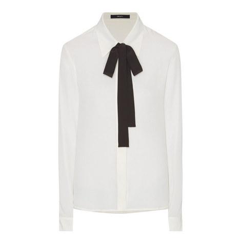 Button Down Silk Shirt, ${color}