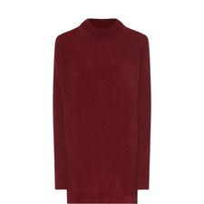 Ribbed Longline Sweater