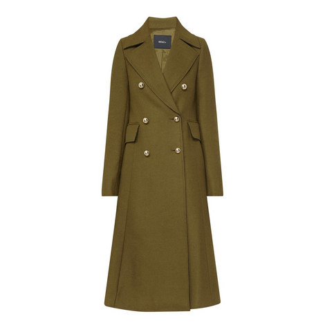 Military Double Breasted Coat, ${color}