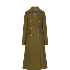 Military Double Breasted Coat