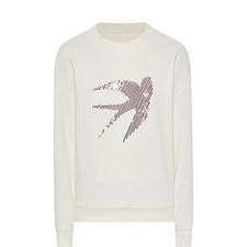 Swallow Detail Sweatshirt