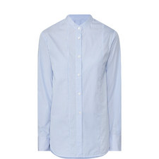 Vertical Stripe Patterned Shirt
