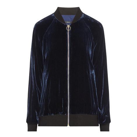 Velvet Baseball Jacket, ${color}