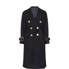Belted Trench Overcoat