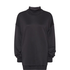 Relaxed Polo Neck Sweatshirt