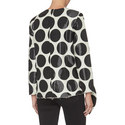 Big Circle Jacquard Top, ${color}