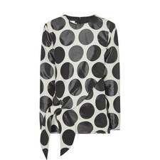 Big Circle Jacquard Top