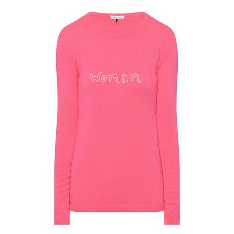 Cashmere Logo Sweater, ${color}