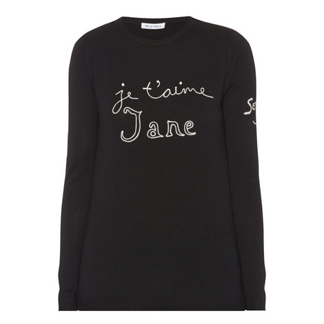Je T'aime Jane Wool Sweater, ${color}