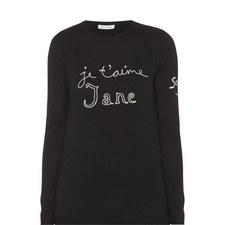 Je T'aime Jane Wool Sweater