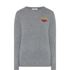 Disco Heart Cashmere Sweater