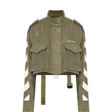 Diagonal Crop Jacket
