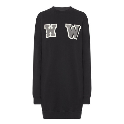 WW Sweatshirt Dress, ${color}