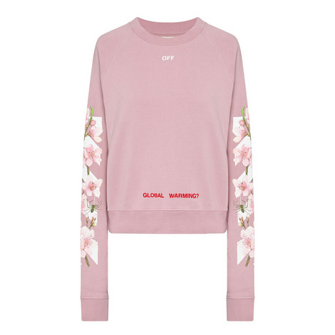 Cherry Blossom Sweatshirt, ${color}