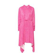 Fluid Print Dress