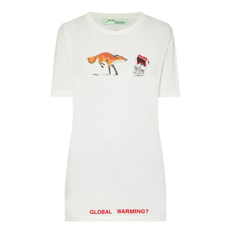 Fox & Cigarette T-Shirt, ${color}