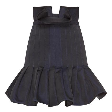 Kyoto Pleated Peplum Skirt, ${color}