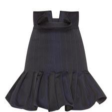 Kyoto Pleated Peplum Skirt