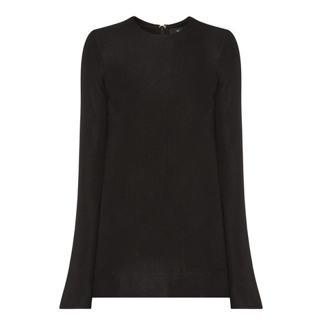 Inception Bell Sleeve Top, ${color}