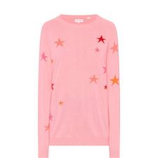 Star Intarsia Cashmere Sweater