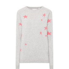 Relaxed Star Intarsia Sweater