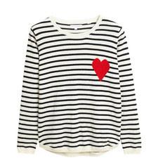 Breton Stripe Cashmere Knit
