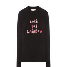 Slogan Cashmere Sweater