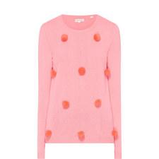 Pom Pom Knit Sweater