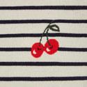 Breton Stripe Cherry Sweater, ${color}