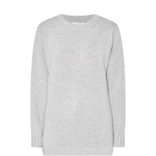 Zip Side Cashmere Sweater