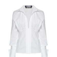 Paula Ruched Waist Shirt