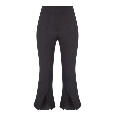 Fendu Slit Front Trousers, ${color}