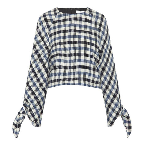 Fairfax Gingham Cropped Top, ${color}