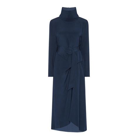 High Neck Dress, ${color}