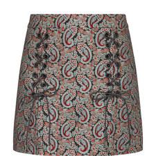 Sailor Lace-Up Skirt