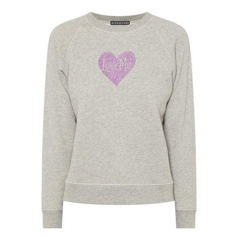Heart Sweatshirt, ${color}