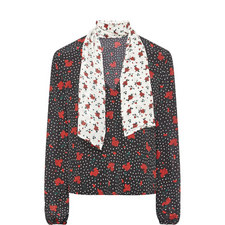 Angie Floral Blouse