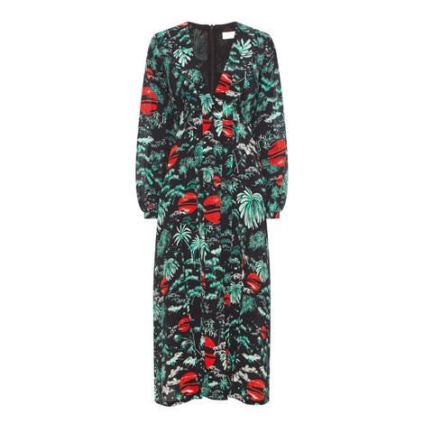 Camellia Oriental Sky Dress, ${color}