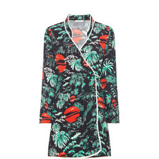 Iris Wrap Kimono Dress