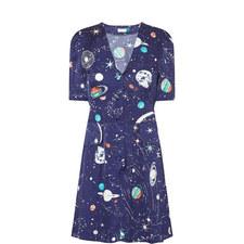 Laura V-Neck Dress