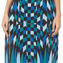 Georgia Geometric Print Skirt, ${color}