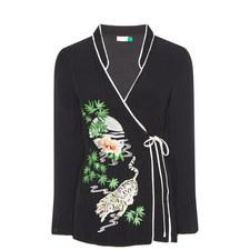 Blossom Wrap Kimono Top
