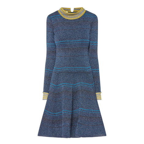 Circle Varsity Dress, ${color}