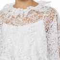 Gathered Lace Blouse, ${color}