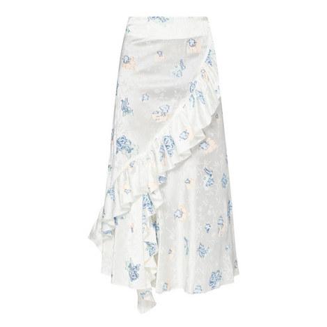 Ruffle Detail Midi Skirt, ${color}