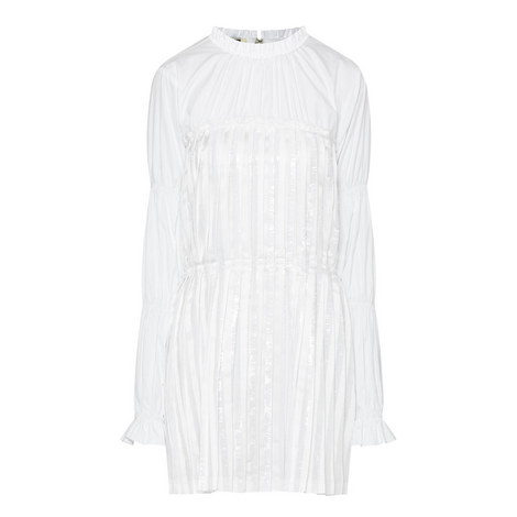 Gel Pleated Tunic Dress, ${color}