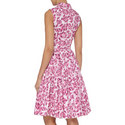 Sleeveless Floral Dress, ${color}