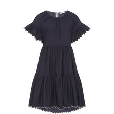 Rosemarie Scalloped Dress