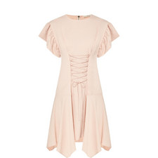 Otille Lace-Up Dress