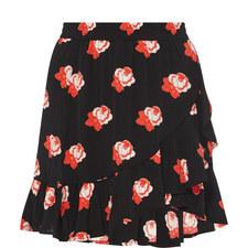 Harley Rose Print Skirt